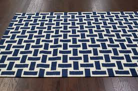 safavieh milan shag navy rug square solid wool carpet thick and