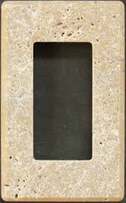 travertine light switch plates travertine switch plates switchplates and outlet covers