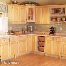 raising kitchen base cabinets cabinet facelift diy