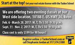 6 hours class online tucker school of real estate home