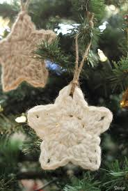 crochet star pattern christmas ornaments darice
