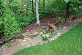 renovation drainage ditch shady grove landscape company