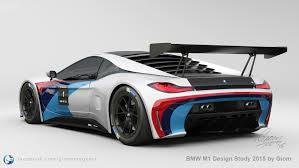 bmw supercar m8 bmw m1 design study shows a futuristic supercar
