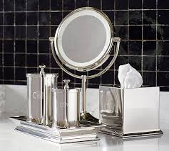 Glass Bathroom Accessories Sets Mercer Bath Accessories Pottery Barn