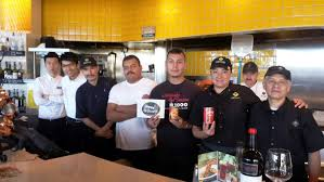 La Kitchen California Pizza Kitchen Of Redondo Beach Collects Over 400 Lbs Of