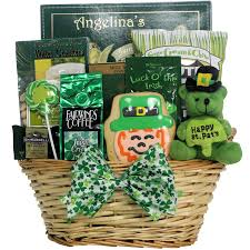 Send Halloween Gift Baskets Amazon Com Luck O U0027 The Irish St Patrick U0027s Day Gourmet Gift
