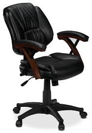 Comfortable Computer Chair by Zeta Office Chair Black Leon U0027s