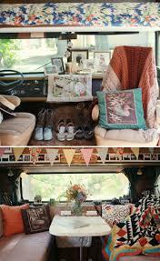 pink volkswagen van inside vw bus picmia