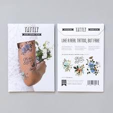 tattly designy temporary tattoos u2014 lovely set by rifle paper co