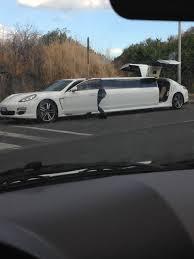 porsche panamera limo what do you guys think about this porsche panamera limousine in