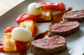 cuisiner avec la plancha vidéo filet d agneau basse température à la plancha