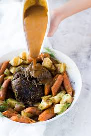 pressure cooker frozen roast beef and potatoes oh so delicioso