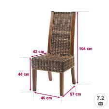 chaise ée 50 lot de 6 chaises discount chaises en rotin discount zonza chaises