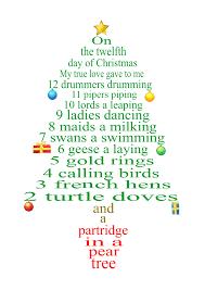 Decorate The Christmas Tree Lyrics 12 Day Of Christmas Lyrics As Tree Decorations Christmas 2017