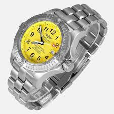 breitling titanium bracelet images Breitling avenger seawolf titanium yellow dial e17370 neofashion jpg