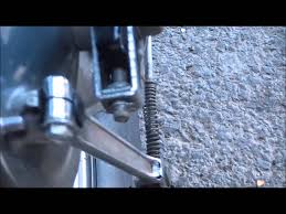 how to adjust the chain drive on a honda shadow spirit motorcycle