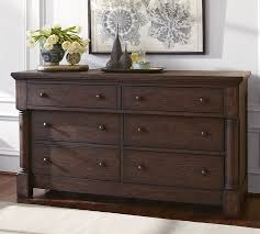 Extra Large Bedroom Dressers Rutherford Extra Wide Dresser Pottery Barn