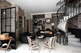 chambre industriel chambre deco industrielle inspirations et étourdissant salon style