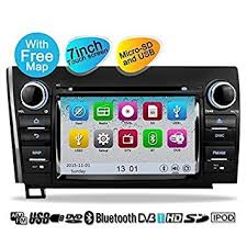 toyota car stereo amazon com yinuo touch screen car stereo for toyota tundra