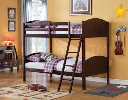 Cherry Bunk Bed Toshi Bunk Bed Cherry Acme Furniture Af
