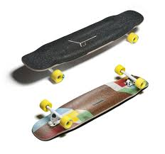 loaded tesseract bamboo longboard skateboard complete jacks