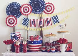 4th Of July Decoration Ideas A Patriotic 4th Of July A Free Banner Three Little Monkeys Studio