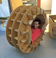 How To Make A Cardboard Chair The Chairigami Story Founder Zach Rotholz