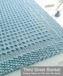 blanket knitting patterns crochet and knit