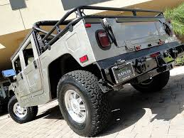 2006 hummer h1 alpha open top convertible