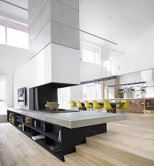 les plus belles cuisines contemporaines les plus belles cuisines contemporaines 8 cheminee cuisine