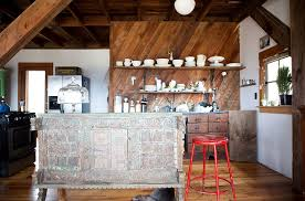 Industrial Style Kitchen Island 50 Trendy Eclectic Kitchens That Serve Up Personalized Style