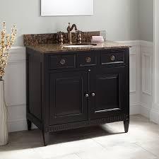 36 Vanity With Granite Top Black Granite Top Vanity Signature Hardware