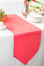 cheap coral table runners coral satin table runners wholesale