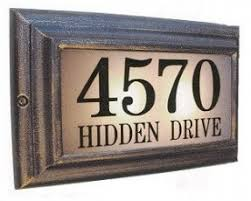 light up address sign light up house numbers open travel