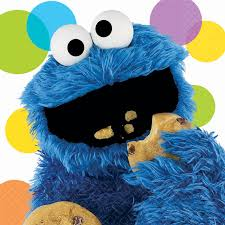 sesame street halloween background sesame street party cookie monster lunch napkins birthdayexpress com