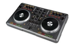 dj table for beginners mixtrack 2 channel dj controller numark