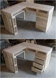Wood Pallet Recycling Ideas Wood Pallet Ideas by Attractive Wood Pallet Recycling Ideas Office Table Wood