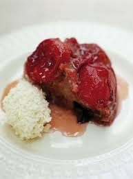 plum upside down cake fruit recipes jamie oliver recipes