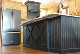 black distressed kitchen island sink in island archives home stores