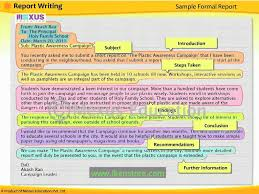english lesson learn report writing youtube