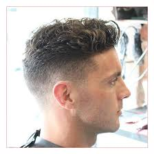 mens medium hairstyles with high taper fade with wavy top u2013 all in