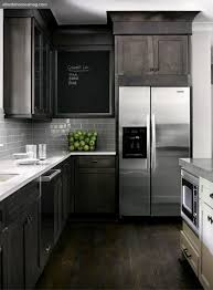 Dark Kitchen Countertops - dark gray quartz kitchen countertops design ideas