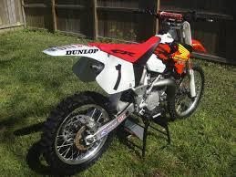 1996 cr250 mcgrath replica rebuild old moto motocross