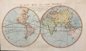 World Map Hemispheres by New Acquisitions