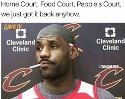 Meme Lebron James - 16 best memes of lebron james the cleveland cavaliers destroying