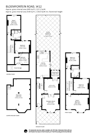 Westfield London Floor Plan 5 Bedroom Property For Sale In Bloemfontein Road London W12
