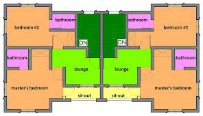 simple two bedroom house plans 2 bedroom semi detached house plans glif org