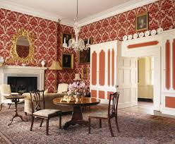 the ambassadors room at croft castle was formed by pritchard in