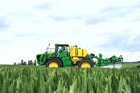 self propelled sprayer launched farm machinery