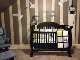 Sailboat Decor For Nursery Baby Nursery Nautical Baby Room Decor Idea With Black Crib And